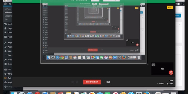 YouTube As screen recorder or cpture