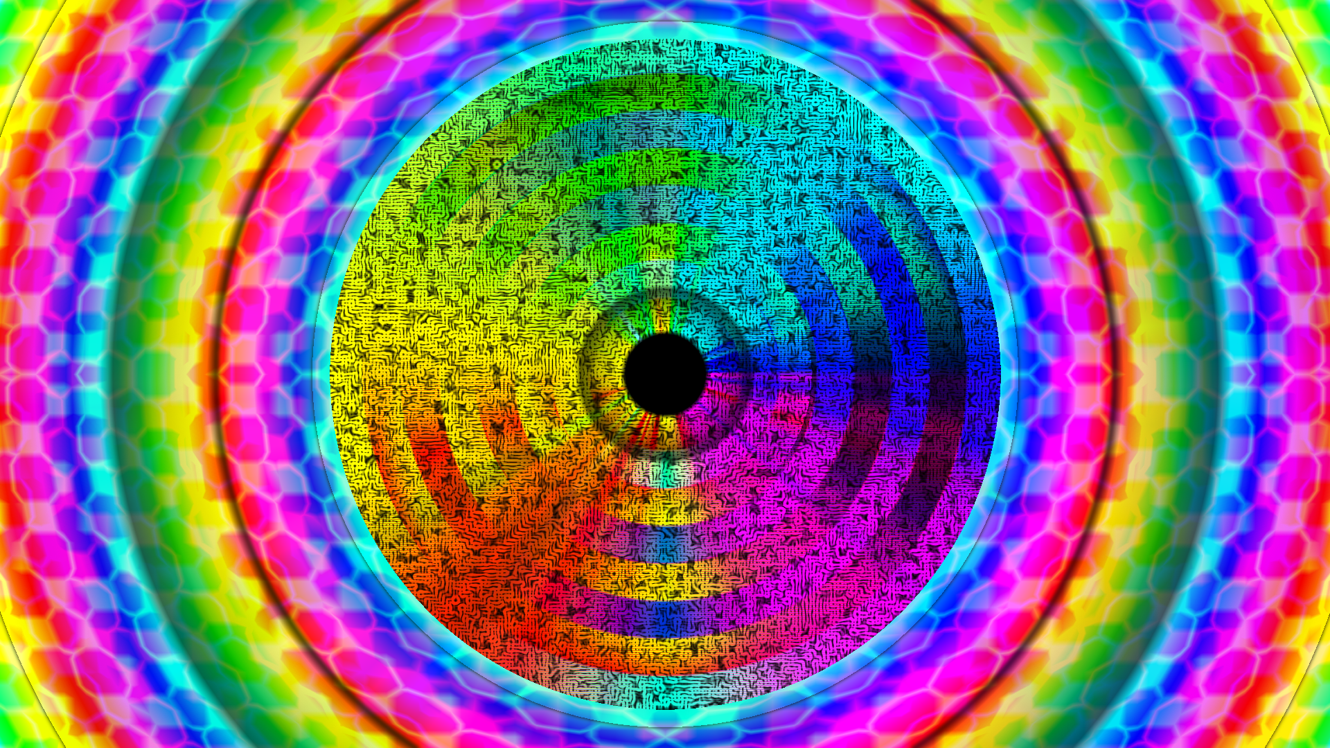 Trippy Background colorful