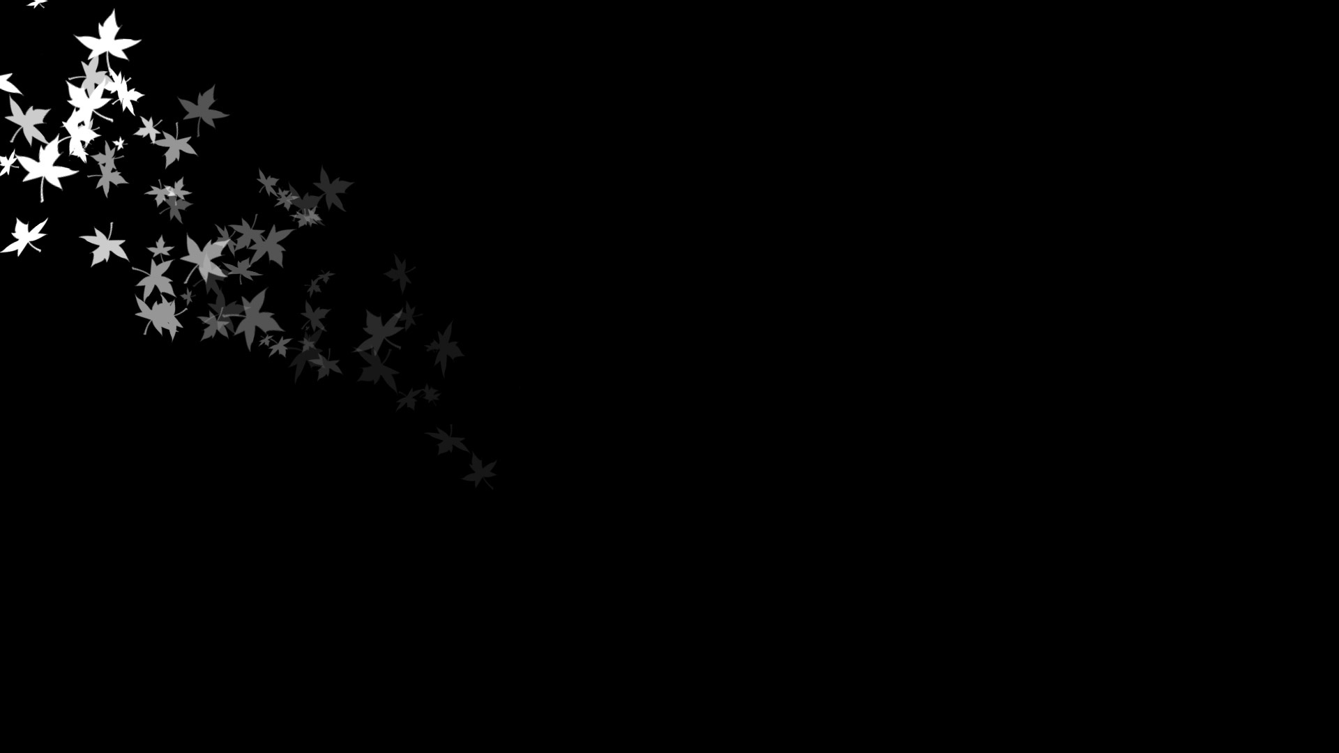 Black Wallpaper with effect