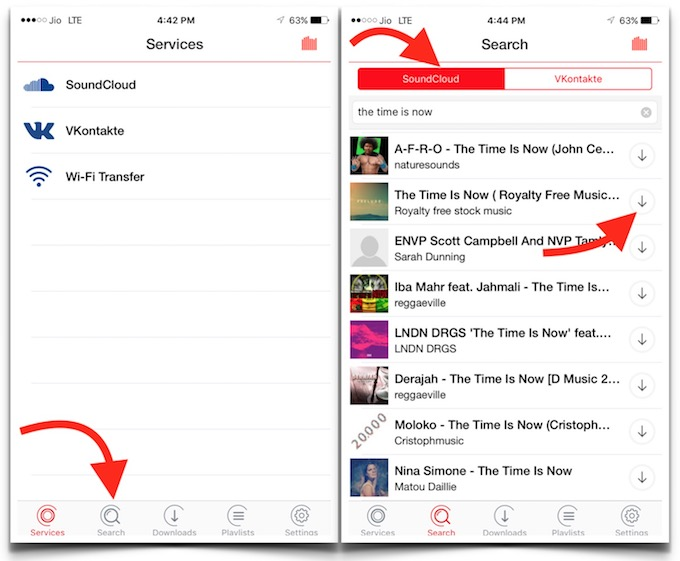 iPhone SoundCloud Music Download
