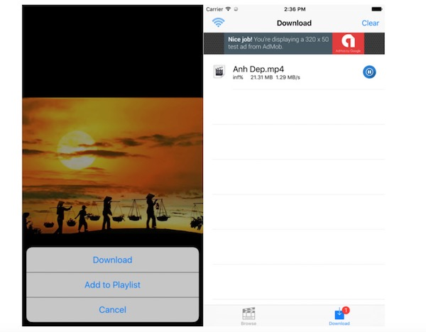 youtube to iphone