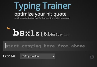 Improve your typing speed and learn to position your finger on the Keyboard